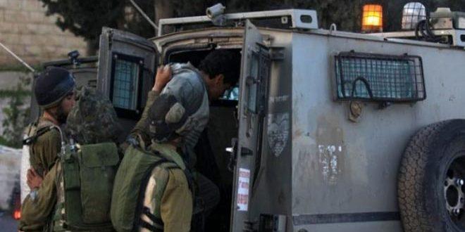 Israeli occupation forces arrest four Palestinians in Bethlehem