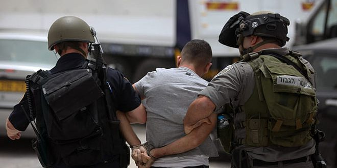 Occupation forces arrest nine Palestinians in the West Bank