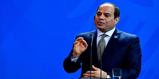 Egypt rejects  any attempt of violating Syria's sovereignty, Al-Sisi says