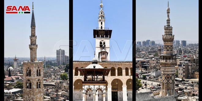 La majestuosa Gran Mezquita de los Omeyas en Damasco