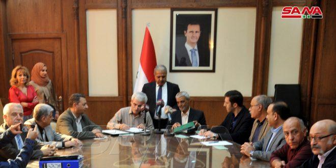 Le Ministère de l'Electricité signe un accord avec une société iranienne pour réhabiliter la centrale de Mehardah