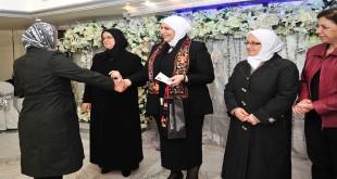 şiddet gören kadınlara onur töreni