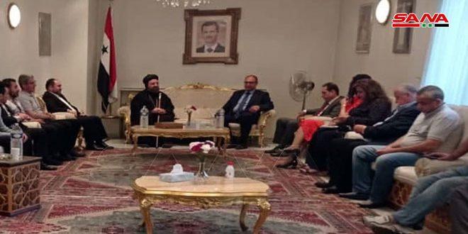 الجالية السورية في بلجيكا تحتفل بفوز الدكتور بشار الأسد بانتخابات رئاسة الجمهورية