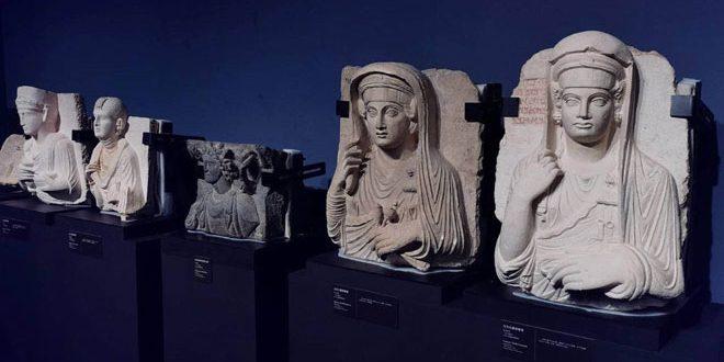 متحف نانشان بمدينة شنجن الصينية يواصل عرض آثار سورية